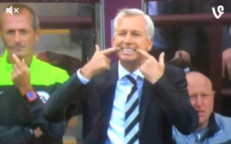 Alan Pardew es un cl�sico en la Premier League