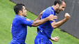 Italy 2-0 Spain: Chiellini and Pelle send Spain tumbling out of Euro 2016