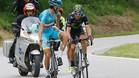 El error de Valverde le cost� 3 segundos de bonificaci�n para Nibali