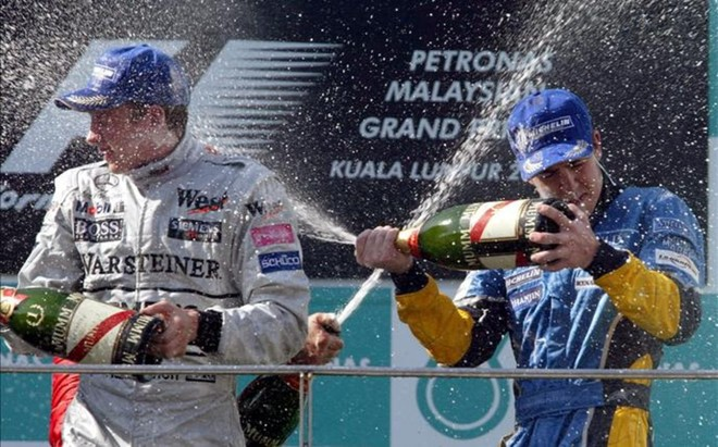 2003: Primer Podio de Fernando
