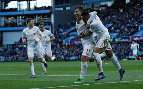 El Liverpool firm� una c�moda goleada a domicilio