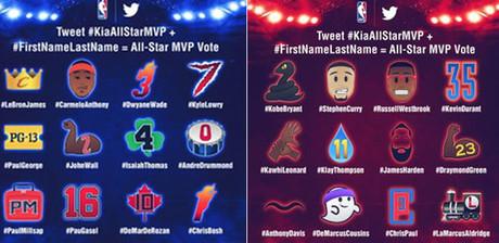 Los emojis de la NBA