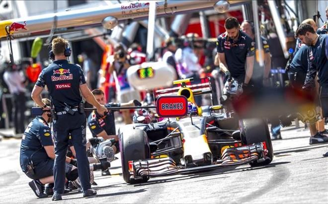 Verstappen, con problemas en el Gran Premio de M�naco