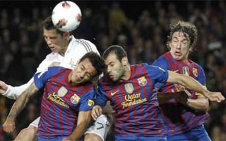 El Barça sucumbió ante el Real Madrid