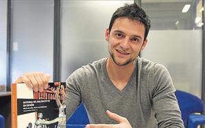 Carlos Giménez, en la redacción de SPORT