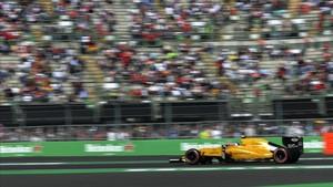 Palmer, al volante del Renault el pasado año