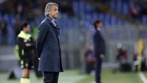 Roberto Mancini está disfrutando de un año sabático después de su salida del Inter
