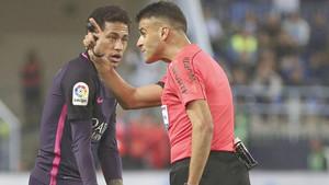 A Neymar le puede salir muy caro el partido de Málaga