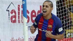 El brasileño Ferrao marcó su primer tanto en esta pretemporada