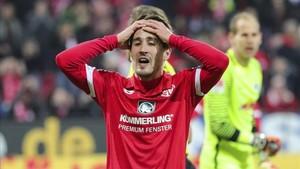 Bojan, en un partido con el Mainz esta temporada