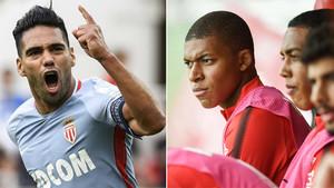 Falcao hizo olvidar la suplencia de Mbappé