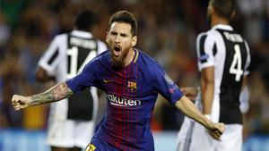 Leo Messi, goleador del Barça