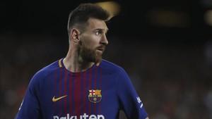 Messi es la referencia absoluta del equipo blaugrana