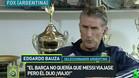 Bauza desvela el desencuentro entre Messi y el Bar�a