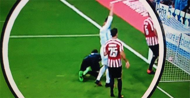 �Qu� reclam� Cristianoen el gol de Morata?