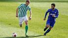 Fausto, en su etapa en el Betis