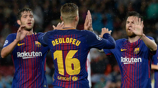 LACHAMPIONS | FC Barcelona - Olympiacos (3-1): Exhibición de Deulofeu