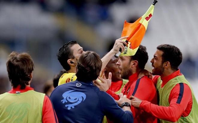 El Levante reclam� el gol anulado a Morales que pod�a mantenerles en Primera