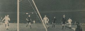 Con este penalti transformado a los 24 minutos por Puskas abrió el Madrid su mayor goleada en Barcelona, 1-5, en enero de 1963