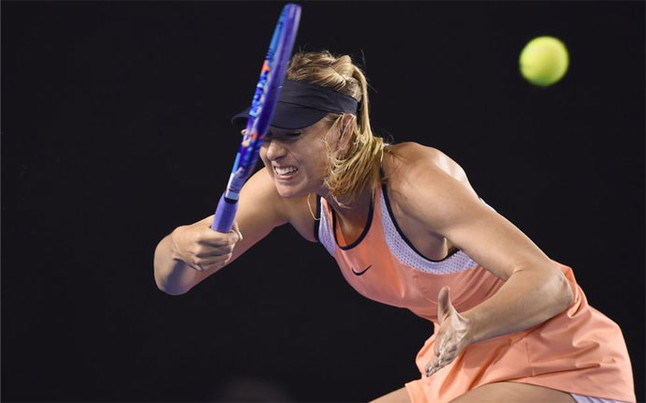 Sharapova vence a Davis y avanza a la cuarta ronda en Australia
