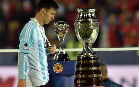 Messi, durante la pasada Copa Am�rica 2015