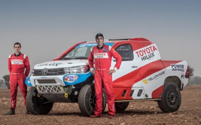 Nani Roma tiene ganas de comprobar en Marruecos la evoluci�n de su Toyota