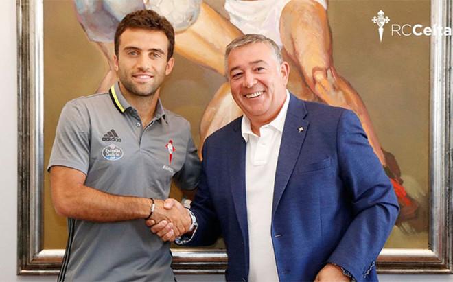 Rossi, nuevo jugador del Celta de Vigo