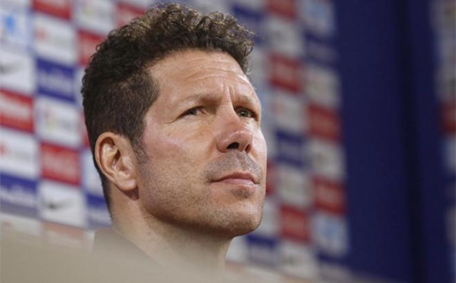 Simeone, entrenador del Atl�tico