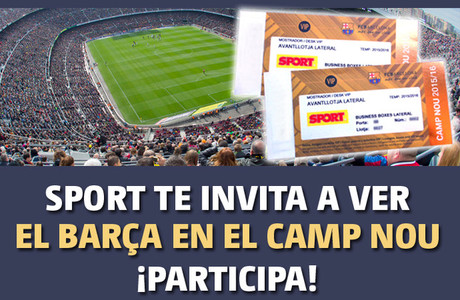 SPORT te invita al Bar�a