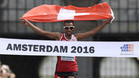 Tadesse Abraham ganó la media maratón