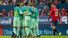 Video resumen con los goles del Osasuna - FC Barcelona (0-3)