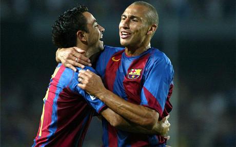 """Larsson: """"Xavi es el mejor futbolista que he tenido de"""