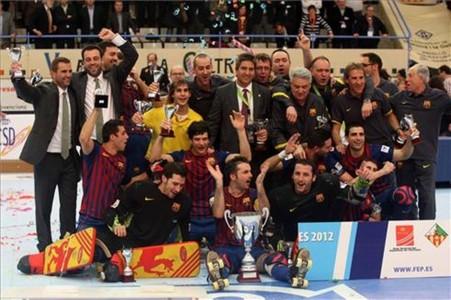 El Barça, campeón