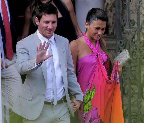 Leo Messi y su novia Antonella Roccuzzo