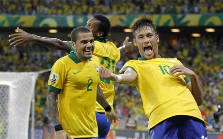 Neymar celebr� as� su recital