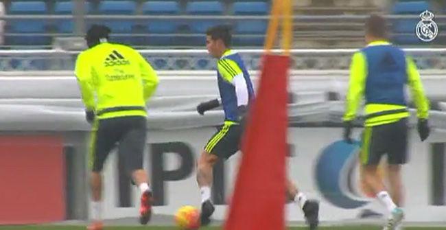 Bale volvió a entrenar bajo las órdenes de Zidane