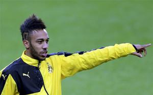 Aubameyang juega en el Borussia Dortmund