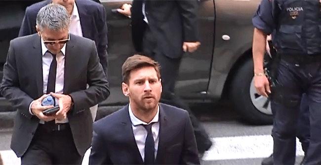 Messi y su padre, condenados a 21 meses de cárcel