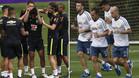 Brasil y Argentina ya preparan el superclásico del jueves