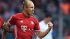 Robben seguirá en el Bayern hasta junio de 2018