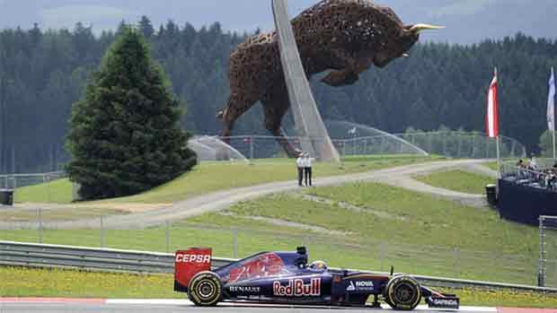 El circuito Red Bull Ring del GP Austria de F1 (ES)
