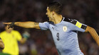 Luis Suárez anotó un doblete ante Bolivia