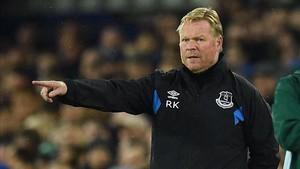 El Everton de Koeman no arranca esta temporada