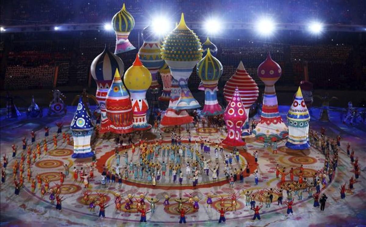 сочи олимпийские игры открытие онлайн