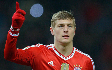 Kroos in Bayern colours