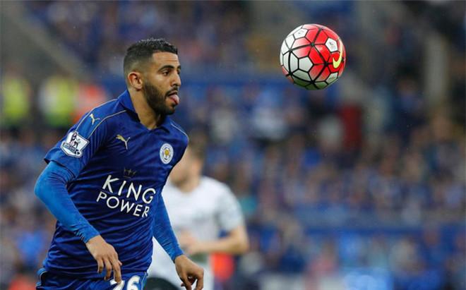 Mahrez, jugador del Leicester