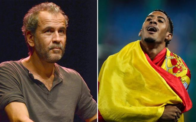 Willy Toleda carg� contra el atleta Orlando Ortega