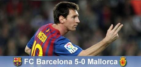 Messi estuvo estelar