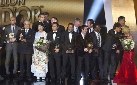 Messi ganó con holgura el Balón de Oro