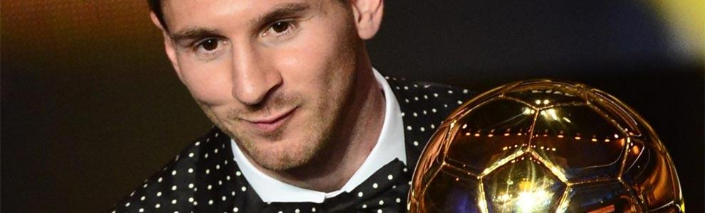Leo Messi, Balón de Oro 2012